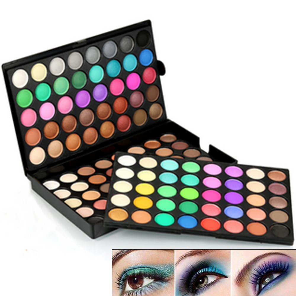 Details about 120 Colors Eyeshadow Eye Shadow Palette Makeup Kit Set Make Up Pro For Popfeel